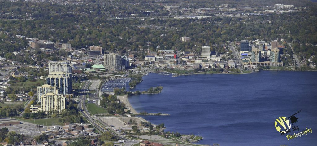 aerial photography Simcoe County, Barrie