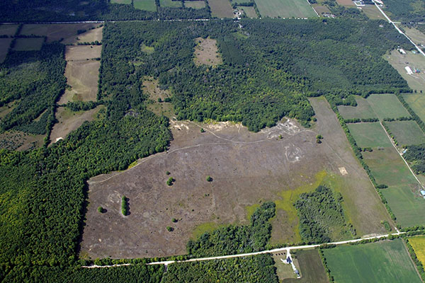 Site Planning Aerial Photo
