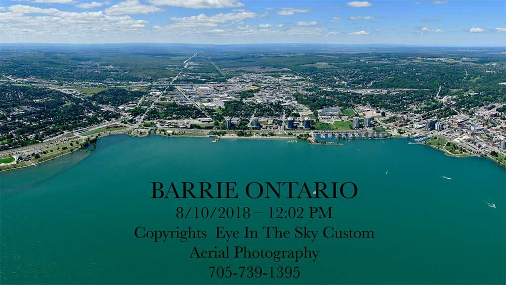 Aerial Photographer Barrie